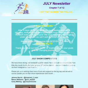 BodyByJR Newsletter